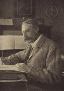 Elgar at work.