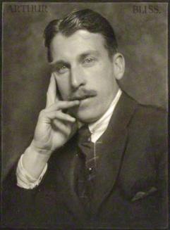 Arthur Bliss in 1922 Credit - Herbert Lambert